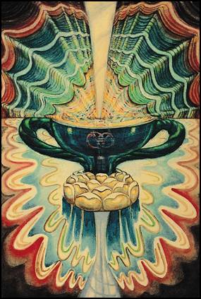 Thoth Tarot Ace of Cups