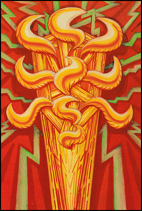 Thoth Tarot Ace of Wands