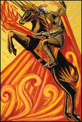 Tarot Knight of Wands, Part 6 (4/4)