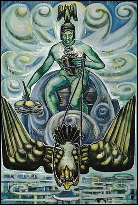 Thoth Tarot Prince of Cups