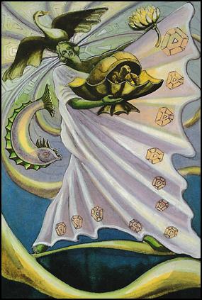Thoth Tarot Princess of Cups