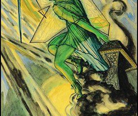 Thoth Tarot Princess of Swords