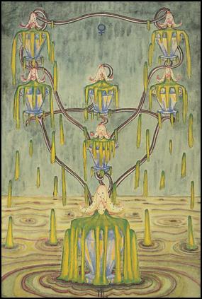 Thoth Tarot Seven of Cups (Debauch)