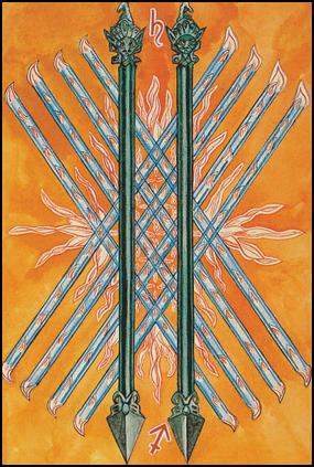Tarot 10 of Wands – Oppression