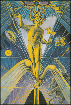 Tarot Dreaming of The Magus