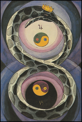 """Tarot Two 2 of Disks """"Change"""""""