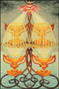 Thoth Tarot Four of Cups (Luxury)