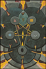 Thoth Tarot Five of Disks (Worry)