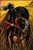 Thoth Tarot Knight of Disks