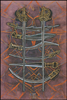 Thoth Tarot Eight of Swords (Interference)