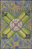 Thoth Tarot Four of Swords (Truce)