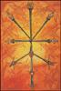 Thoth Tarot Ten of Swords (Ruin)