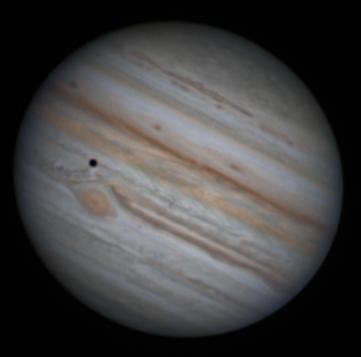 Jupiter, from a backyard scope